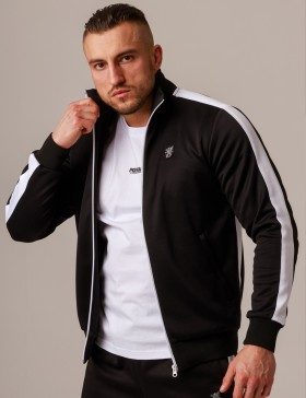Jacket Retro Tape Black