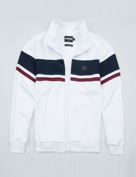 Jacket Retro Vintage 20 White