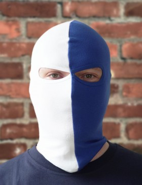 Cagoule bleue/blanche